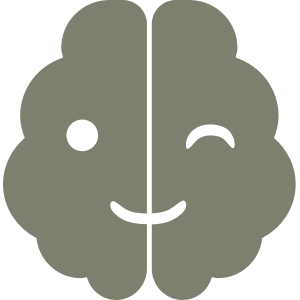 footer logo of winking brain for neurodiverse Alex