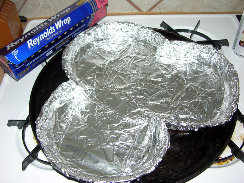 Aluminum foil lining